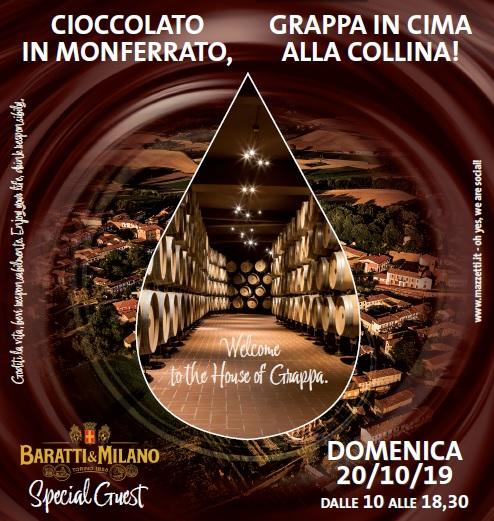 Mazzetti d'Altavilla, goloserie tra grappa e cioccolato