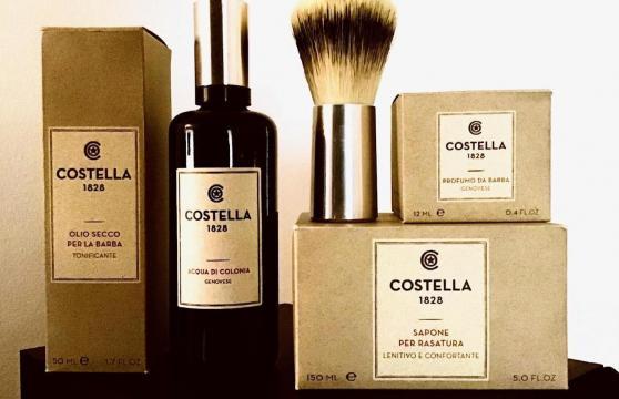 Nuova linea essenziale rasatura e grooming di Costella 1828